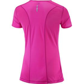 Salomon W's Trail Runner SS Tee rose violet